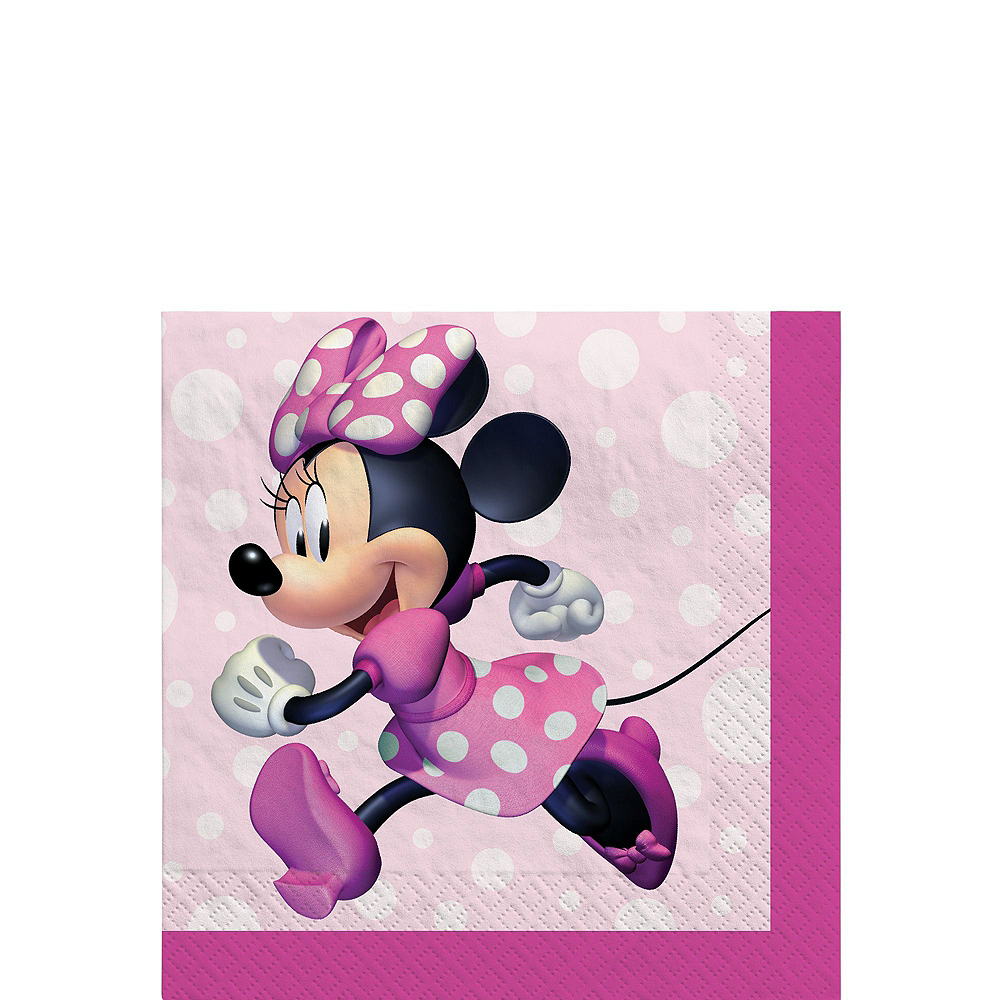 Nav Item for Minnie Mouse Forever Tableware Kit for 8 Guests Image #4