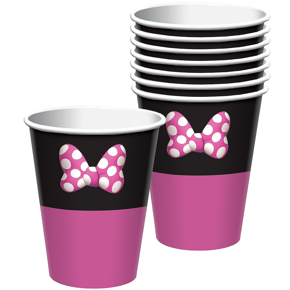 Minnie Mouse Forever Ultimate Tableware Kit for 16 Guests Image #6