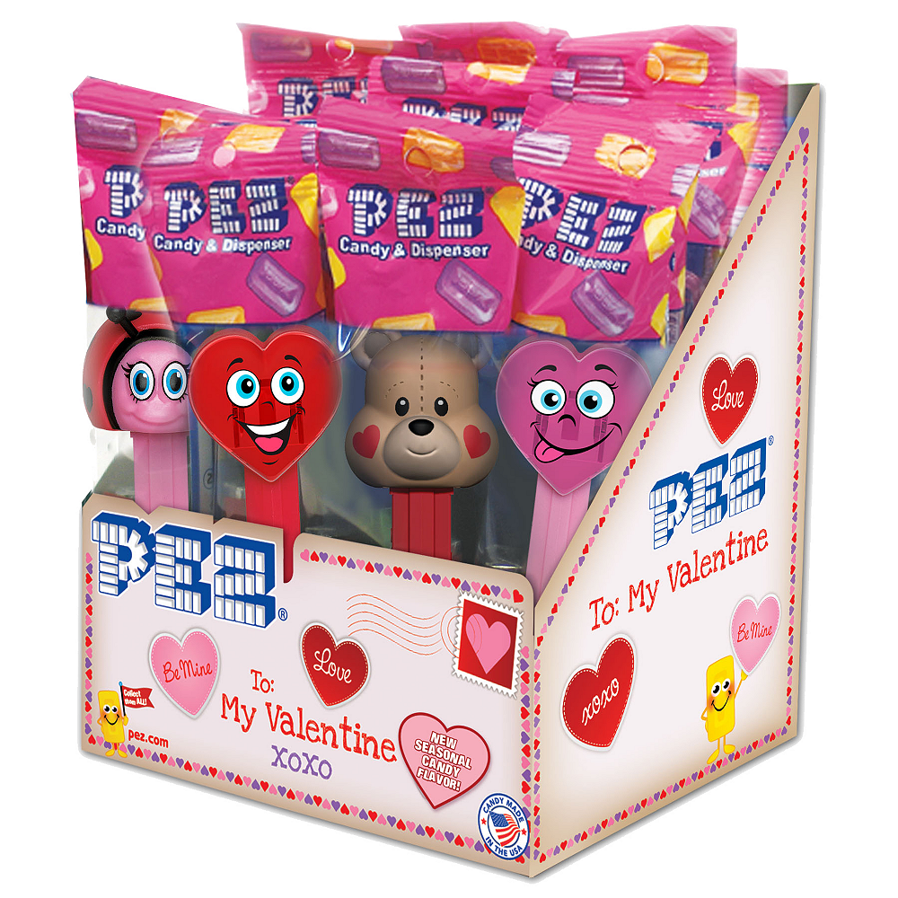 Valentine's Day PEZ Dispensers 12ct Image #1