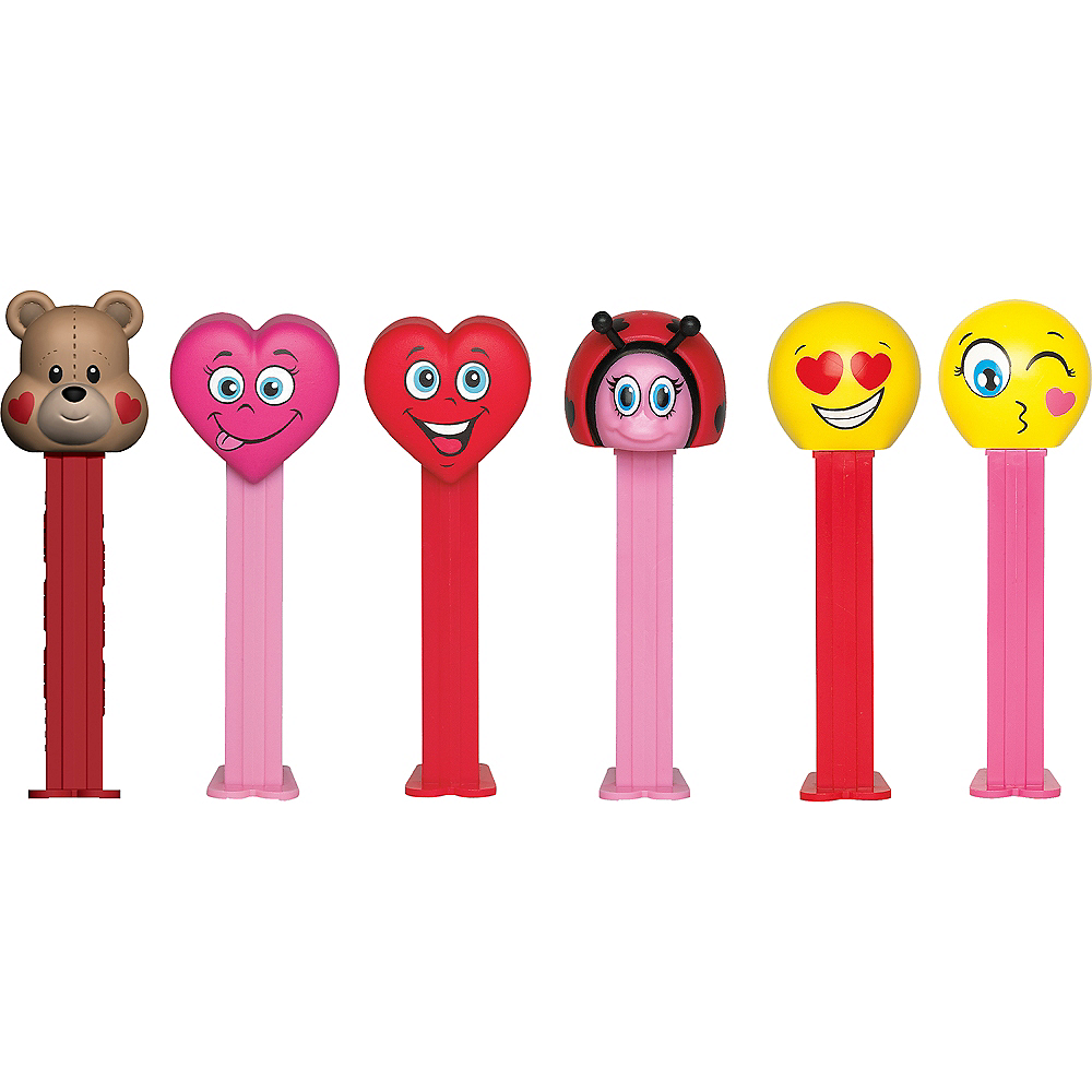 Valentine's Day PEZ Dispensers 12ct Image #2
