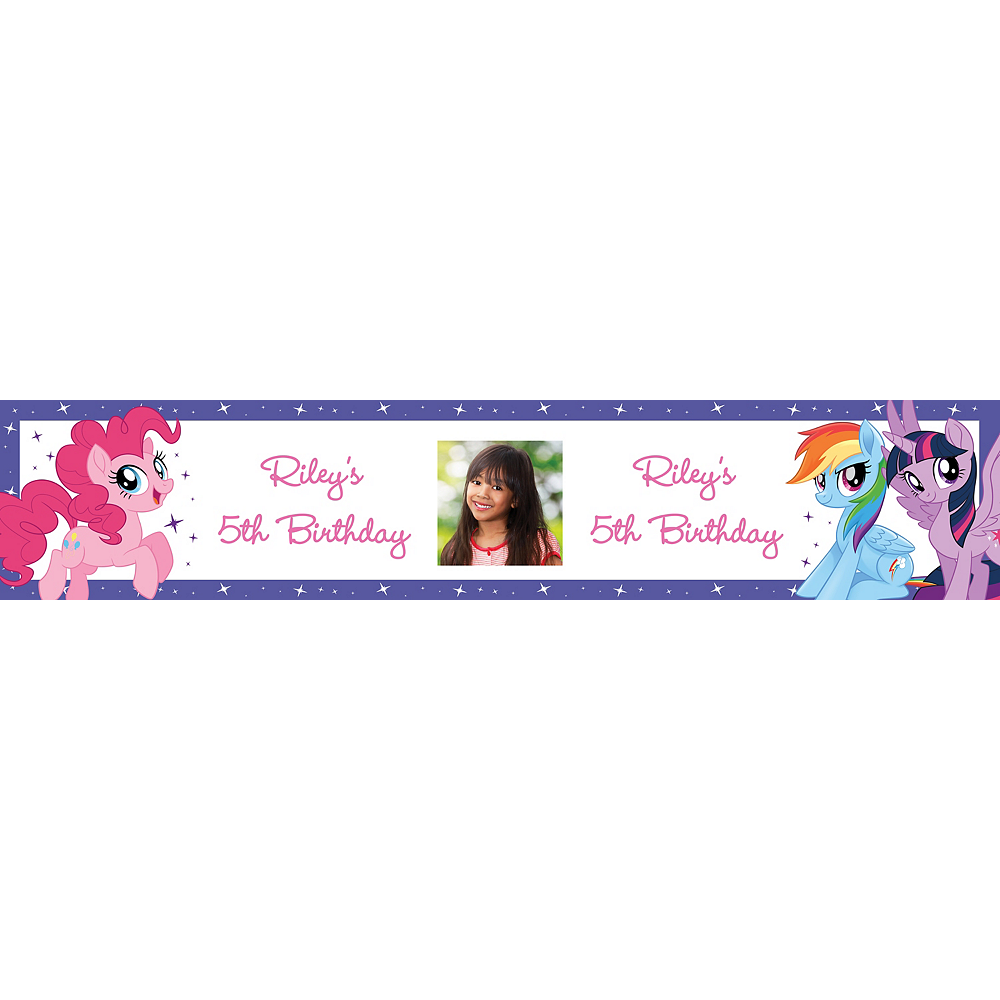 Custom My Little Pony Photo Table Runner Image #1