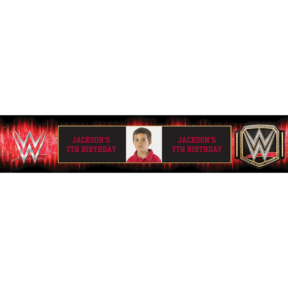 Custom WWE Photo Table Runner Image #1