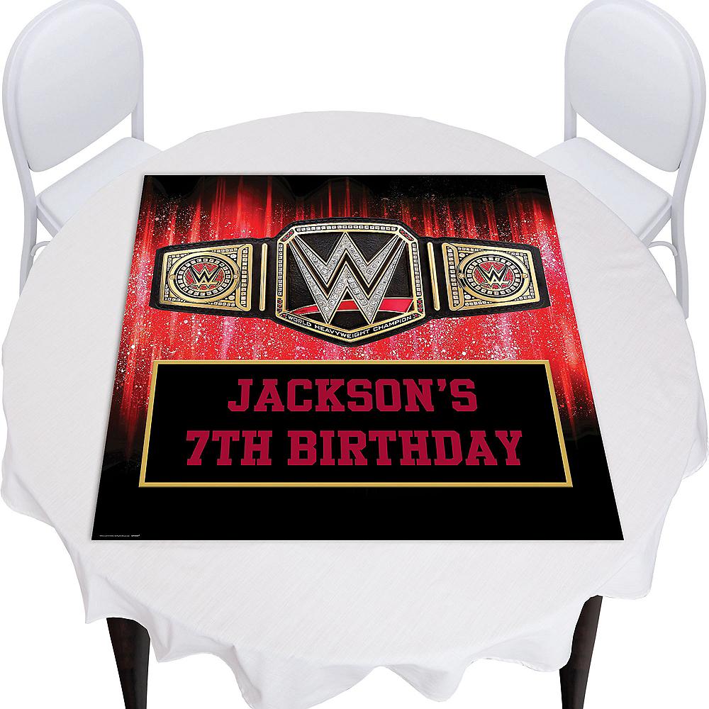 Custom WWE Square Table Topper Image #1