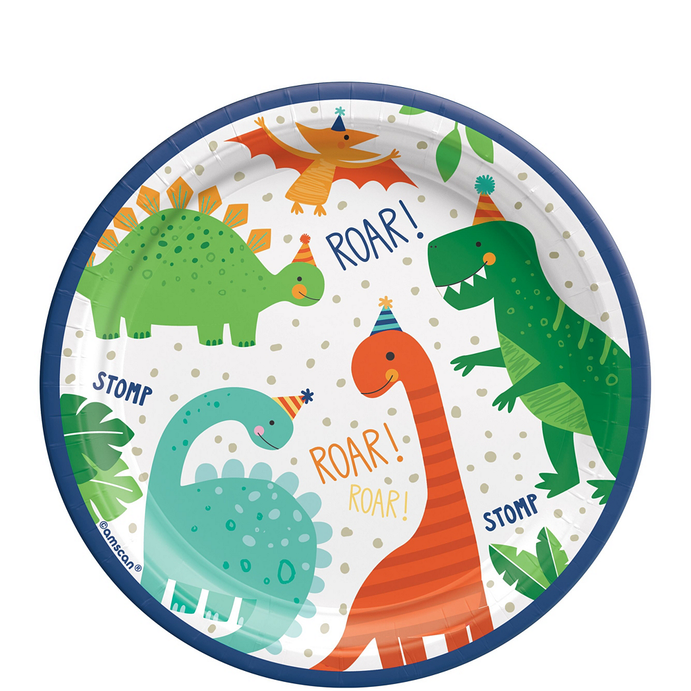 Dino-Mite Birthday Tableware Kit for 16 Guests Image #2