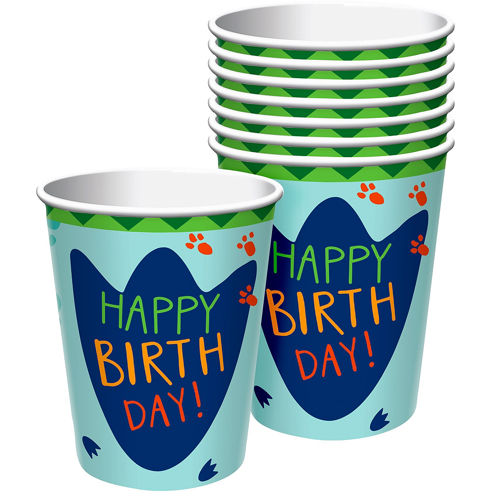 Dino-Mite 1st Birthday Tableware Kit for 32 Guests Image #6