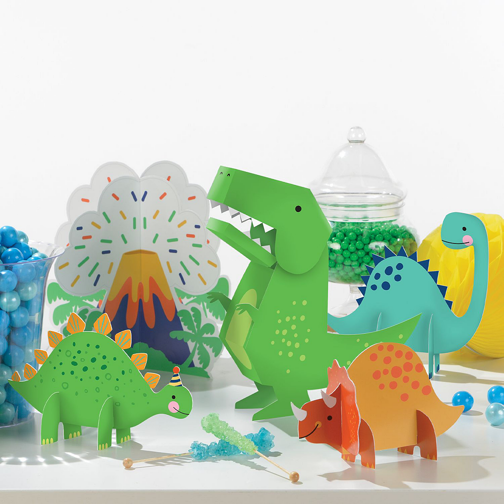 Dino-Mite 1st Birthday Tableware Kit for 32 Guests Image #10