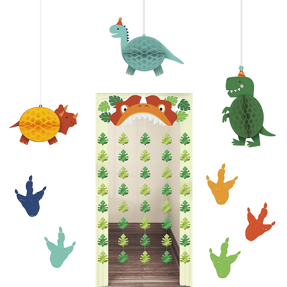 Nav Item for Dino-Mite Room Decorating Kit Image #1