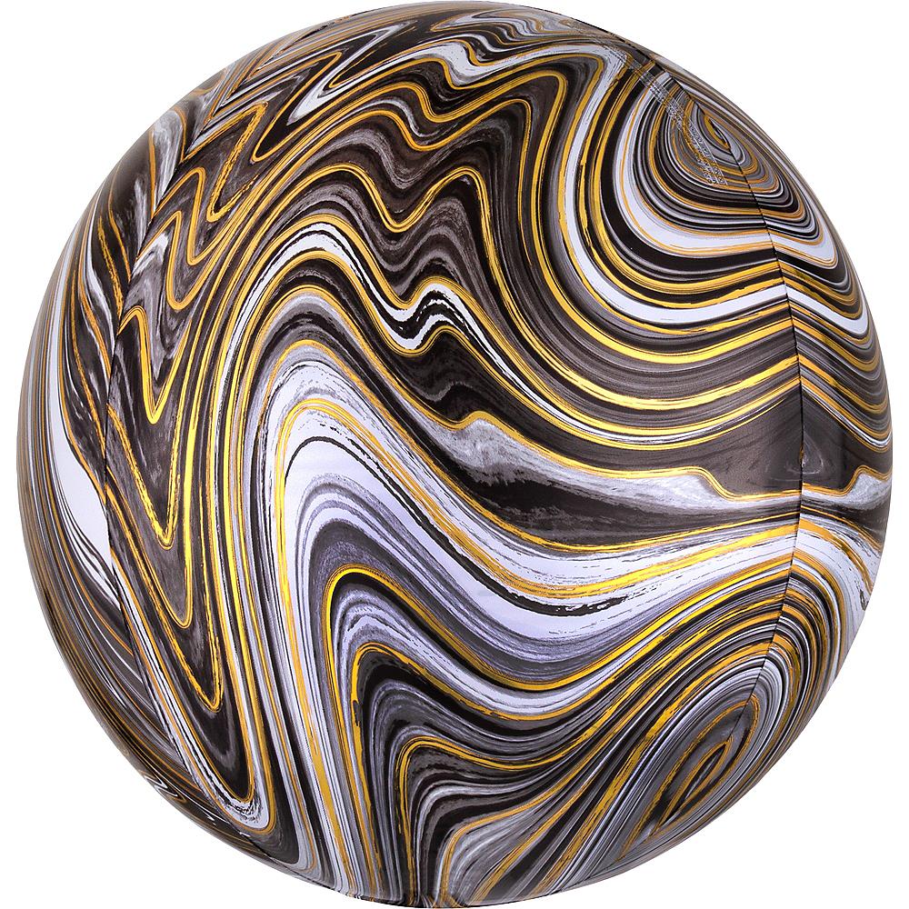 Black Marble Balloon - Orbz Image #1