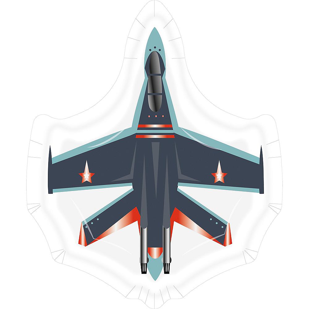 Shaped Fighter Jet Dessert Plates, 8ct Image #1