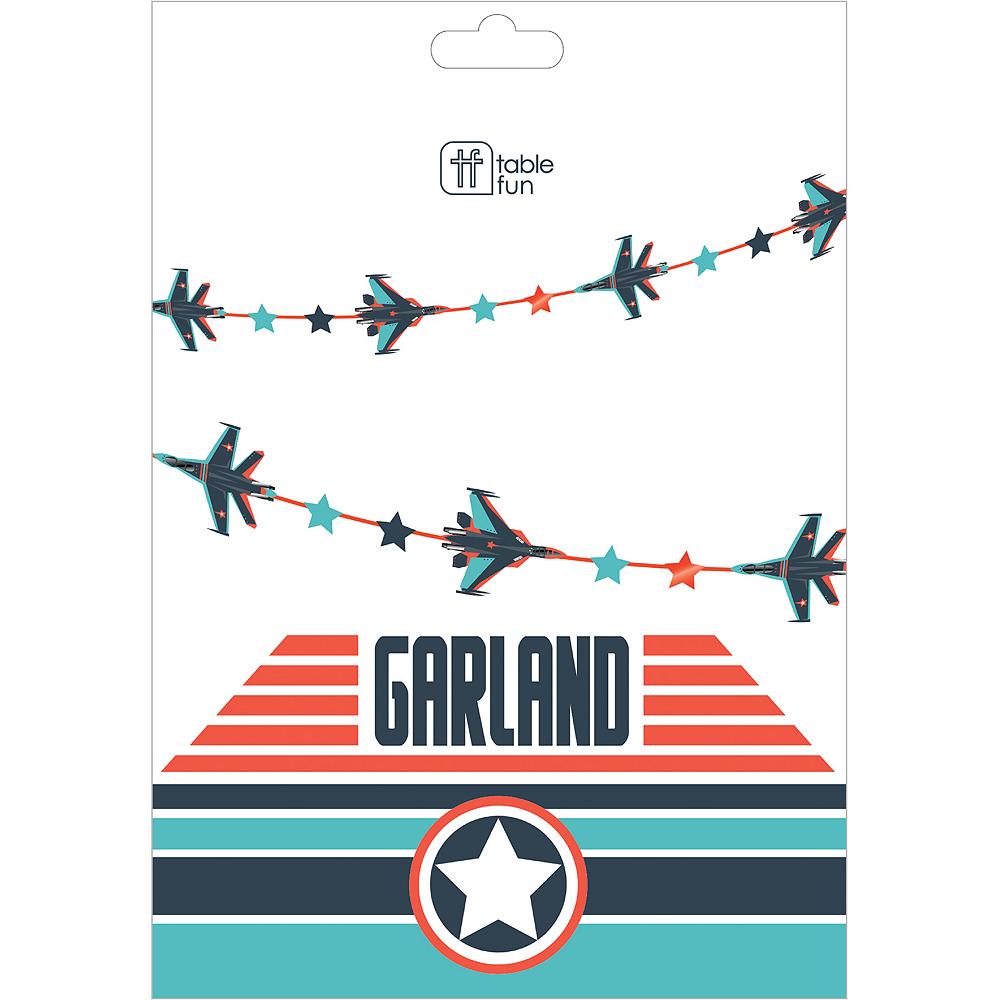 Fighter Jet Garland, 10ft Image #2