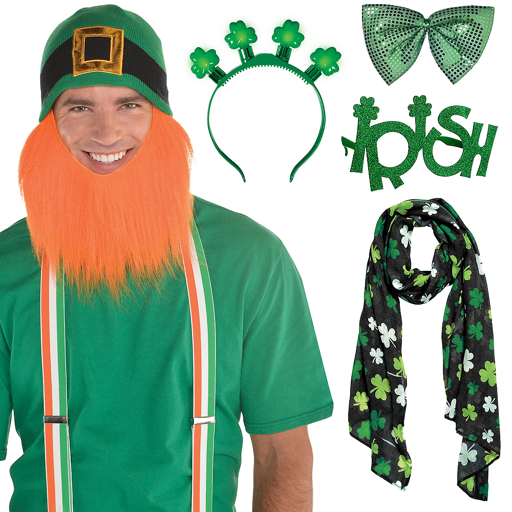 St. Patrick's Day Couple Costume Accessory Kit Image #1