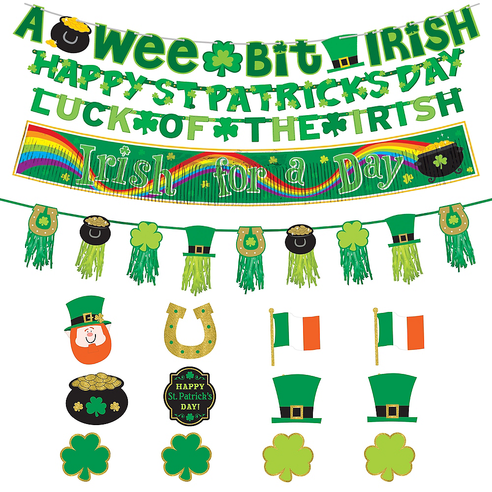 St. Patrick's Day Table Decorating Kit Image #1
