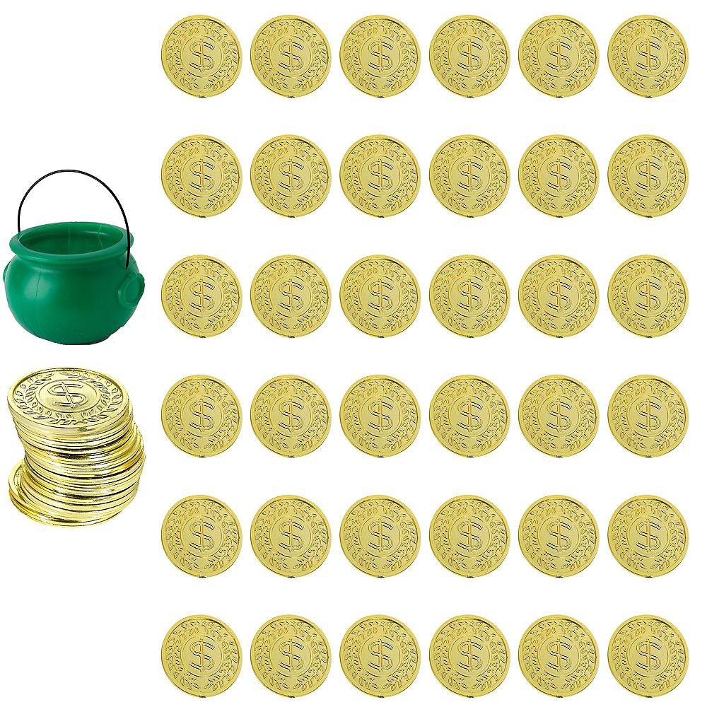 St. Patrick's Day Leprechaun Pot of Gold Kit Image #1