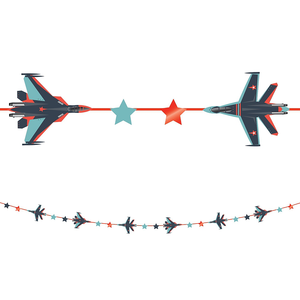 Fighter Jet Tableware for 16 Guests Image #10
