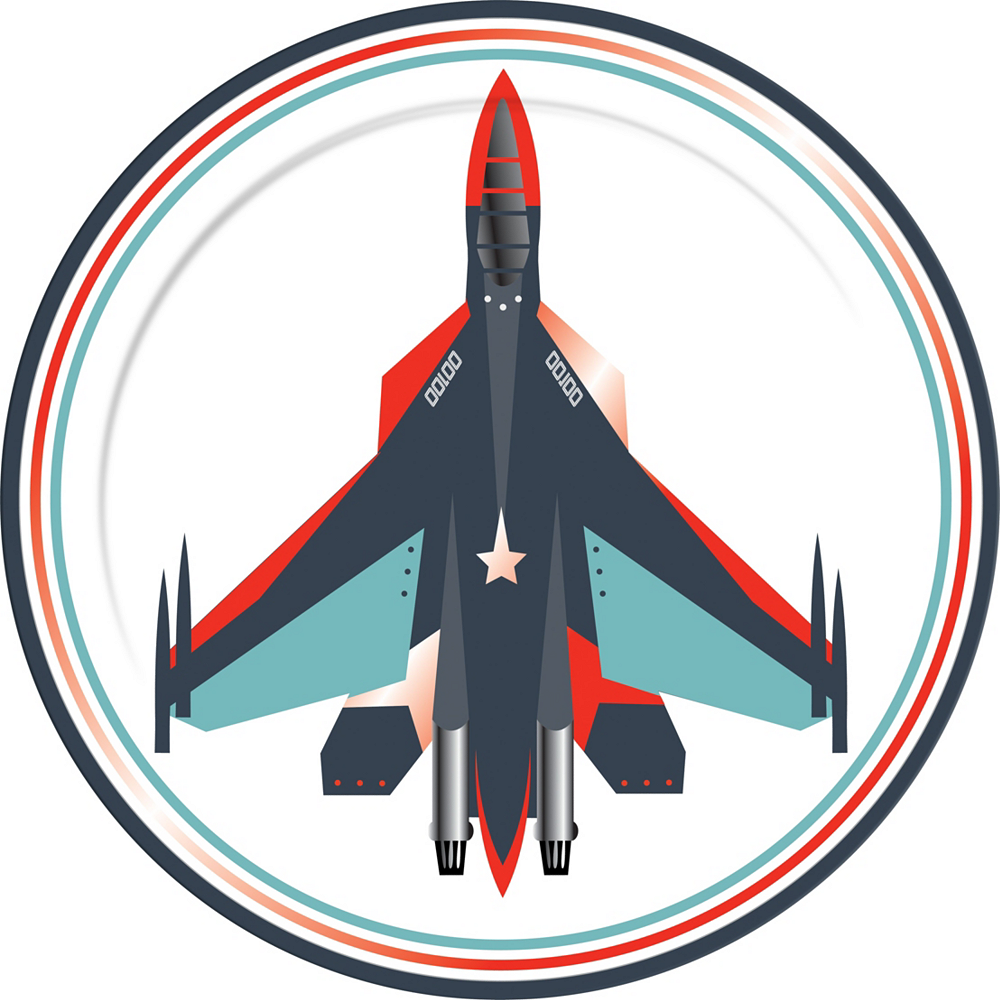 Fighter Jet Tableware for 24 Guests Image #3