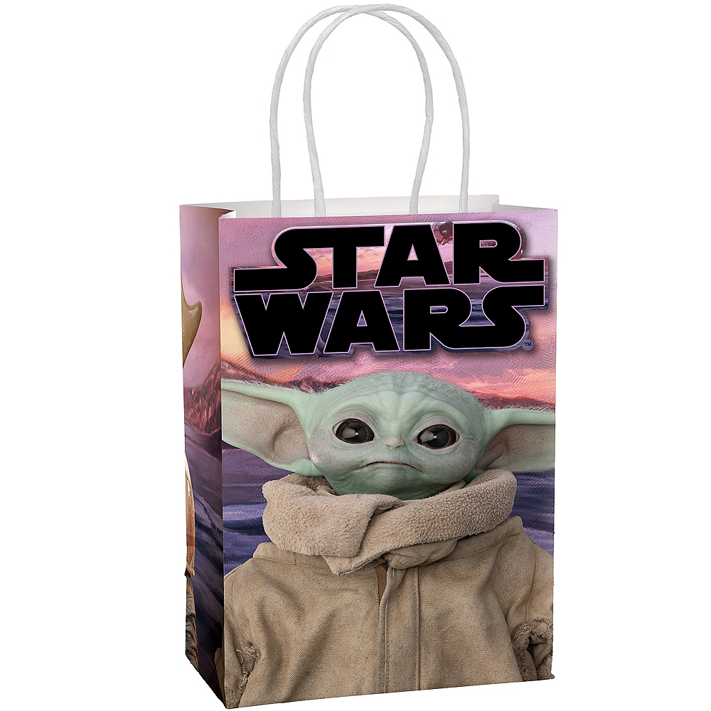 The Child Create Your Own Favor Bag Kit 8ct - The Mandalorian Image #1