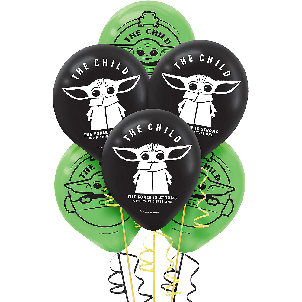 The Child Balloons, 12in, 6ct - The Mandalorian Image #1