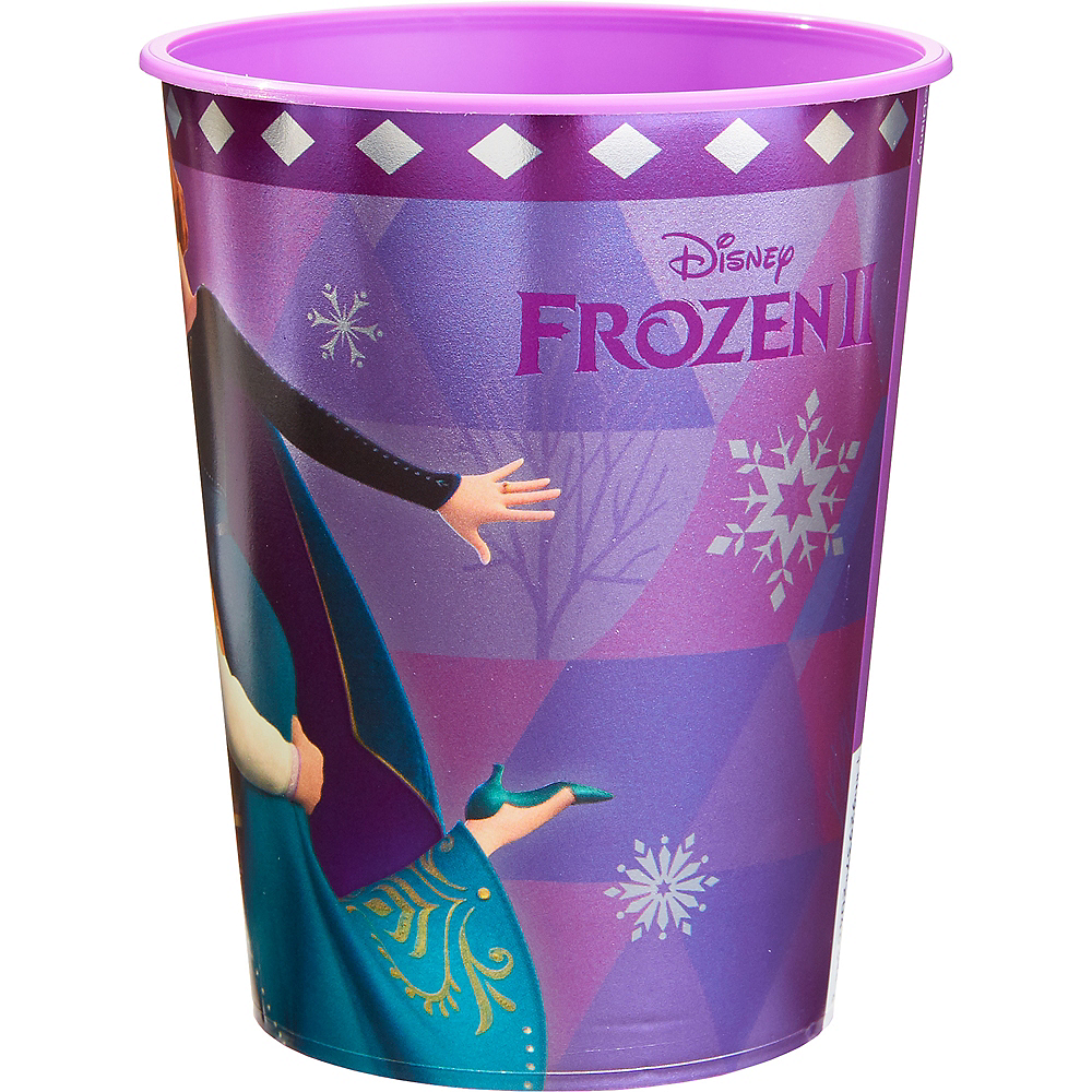 Metallic Anna & Kristoff Favor Cup - Frozen 2 Image #2