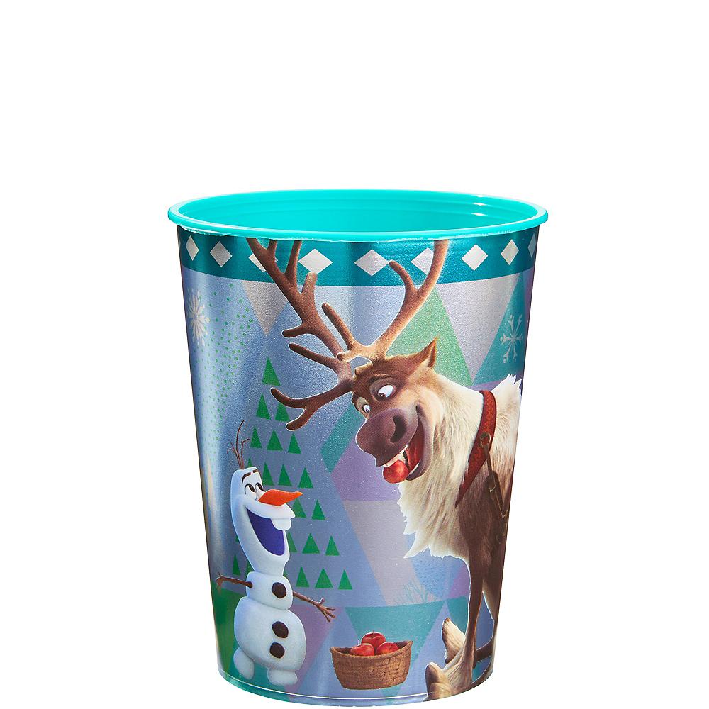 Metallic Olaf & Sven Favor Cup - Frozen 2 Image #1