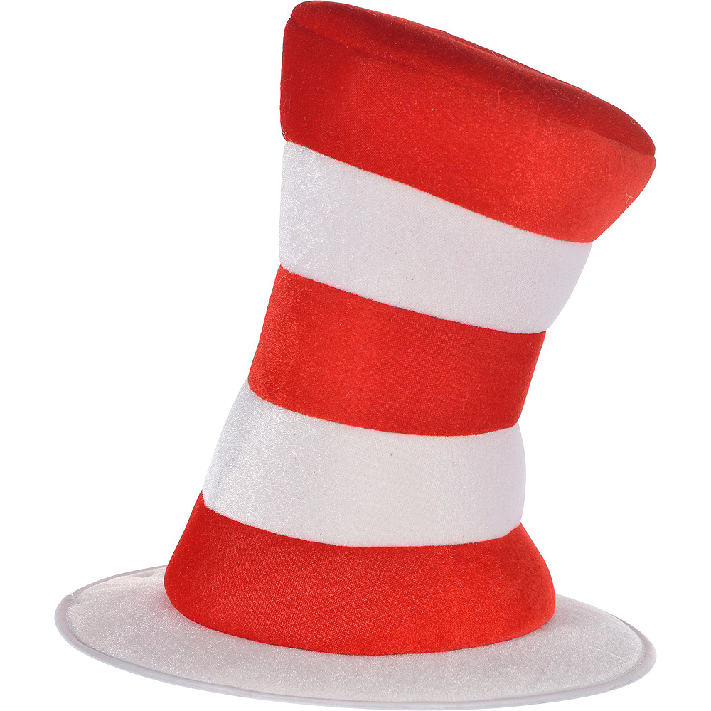 Dr. Seuss Cat In The Hat Bow & Hat Costume Accessory Kit Image #3