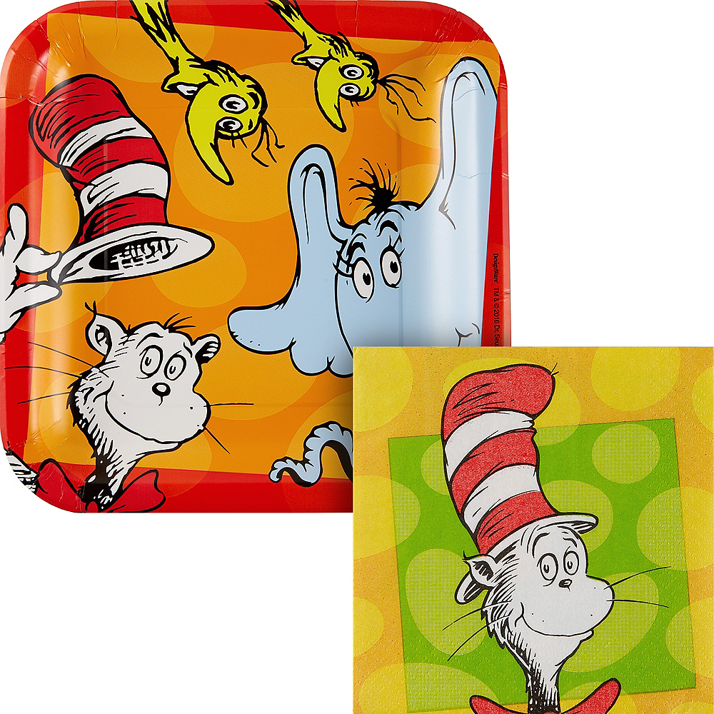 Dr. Seuss Classroom Appetizer Kit for 32 Guests Image #1