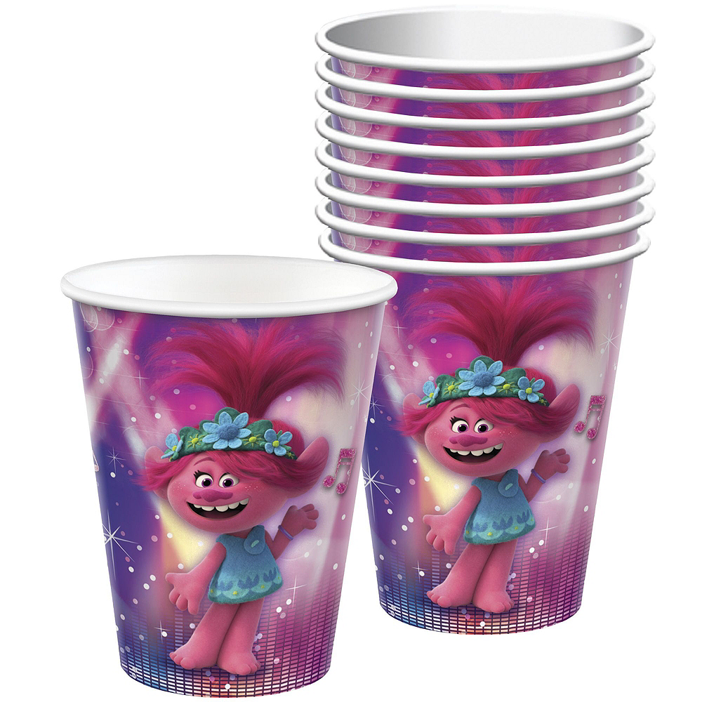 Trolls World Tour Tableware Kit for 8 Guests Image #6