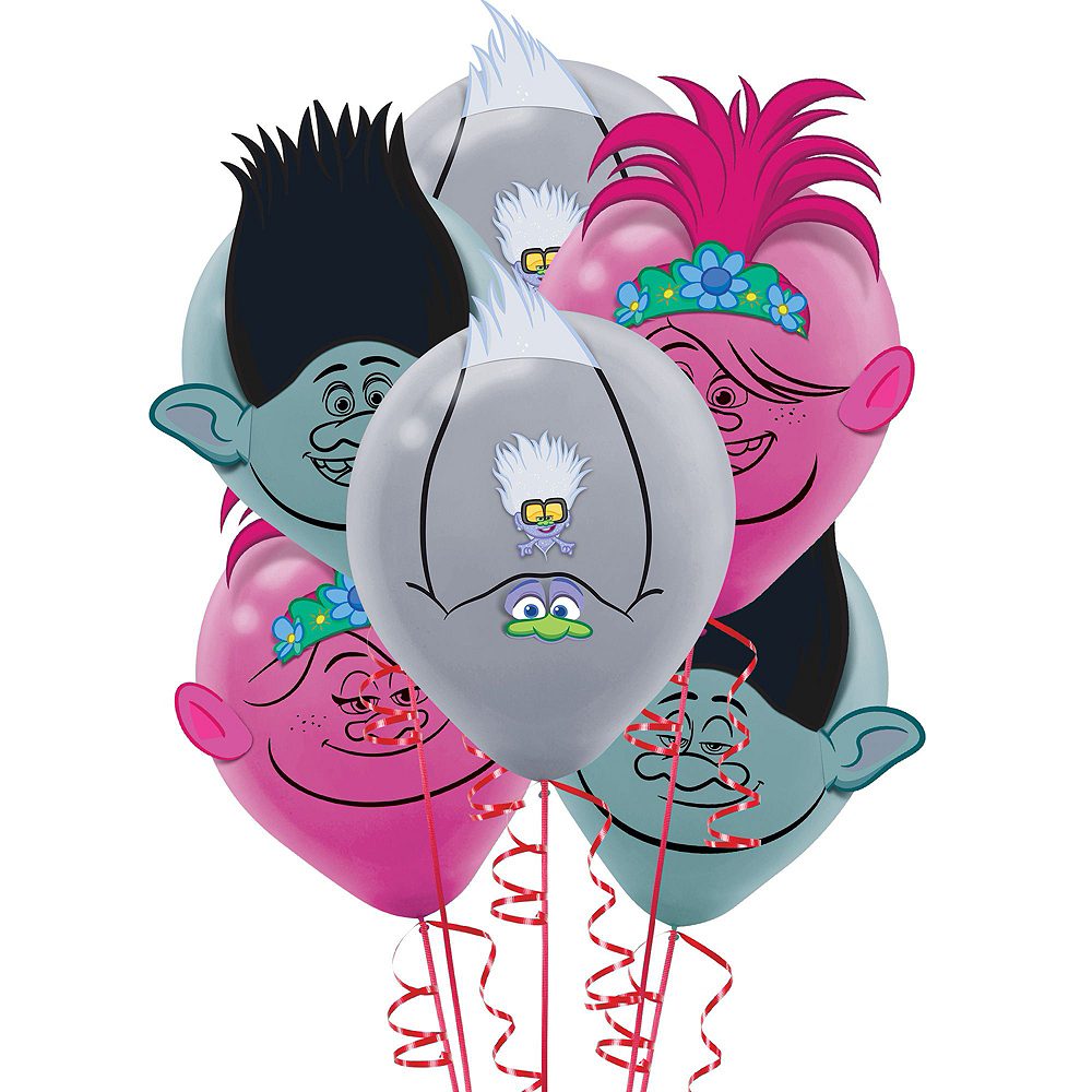 Trolls World Tour Tableware Kit for 8 Guests Image #9