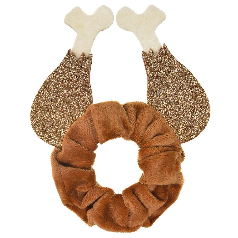 Nav Item for Glitter Turkey Leg Scrunchie Image #1