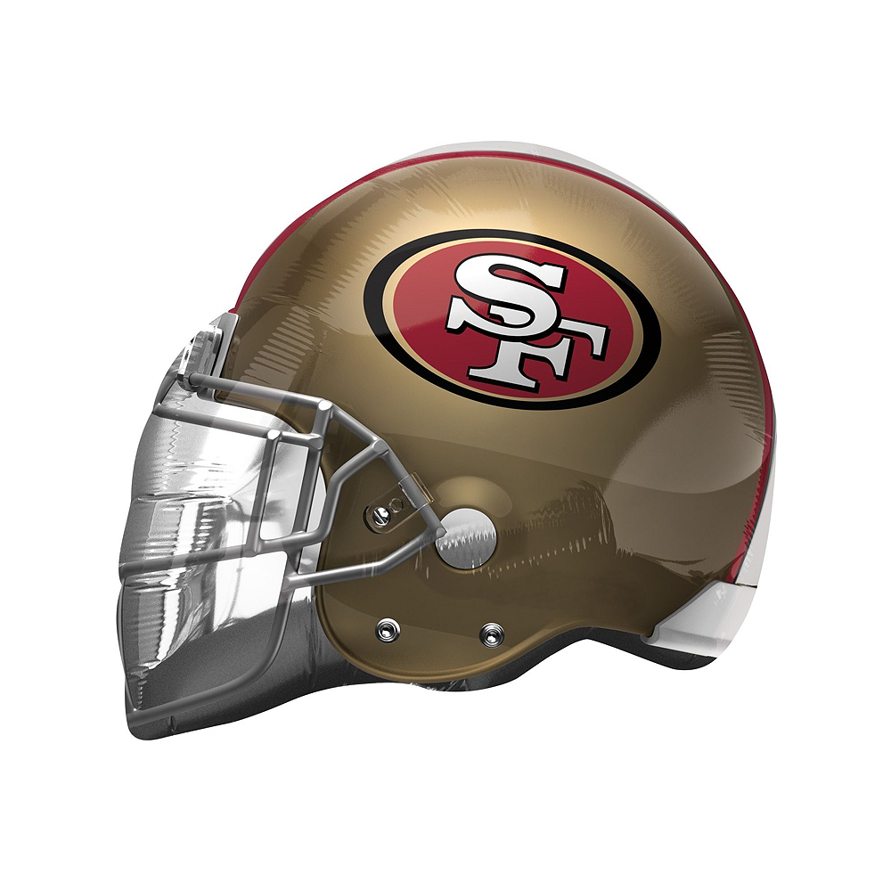 San Francisco 49ers Helmet & Stars Balloon Kit Image #2