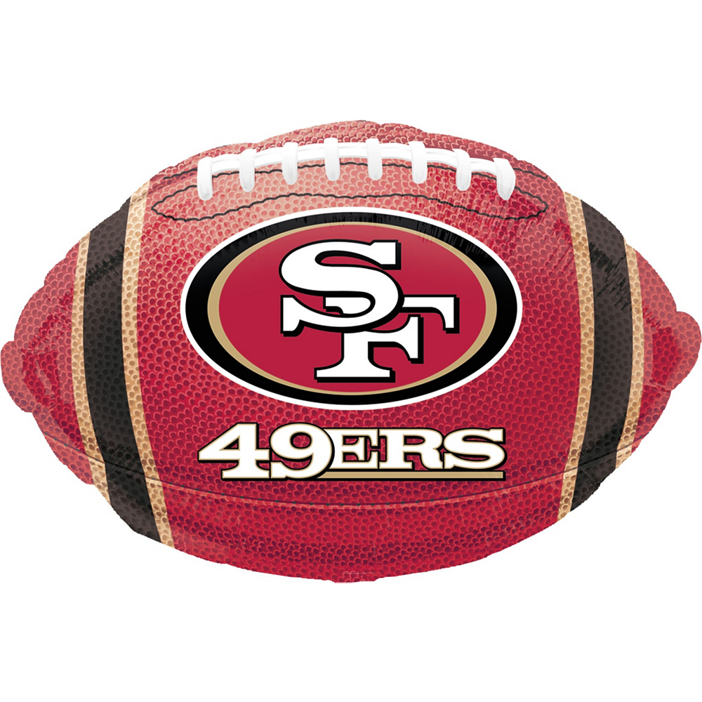 San Francisco 49ers Helmet & Stars Balloon Kit Image #5