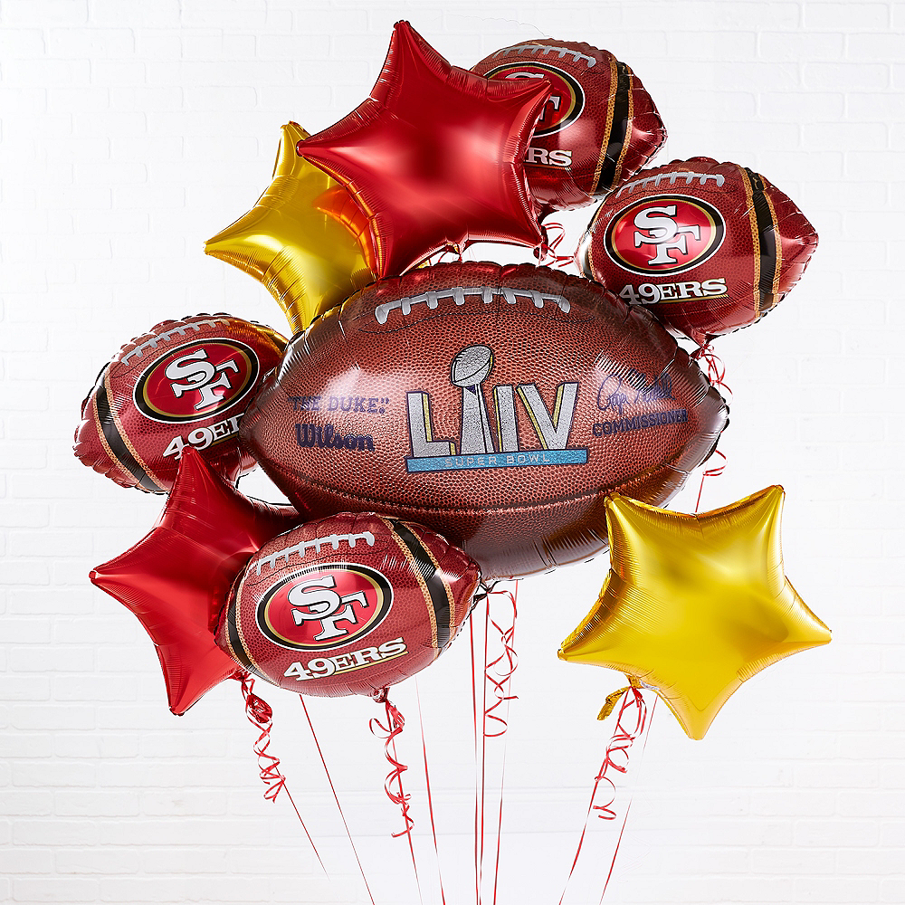 Super Bowl San Francisco 49ers Balloon Kit Image #1