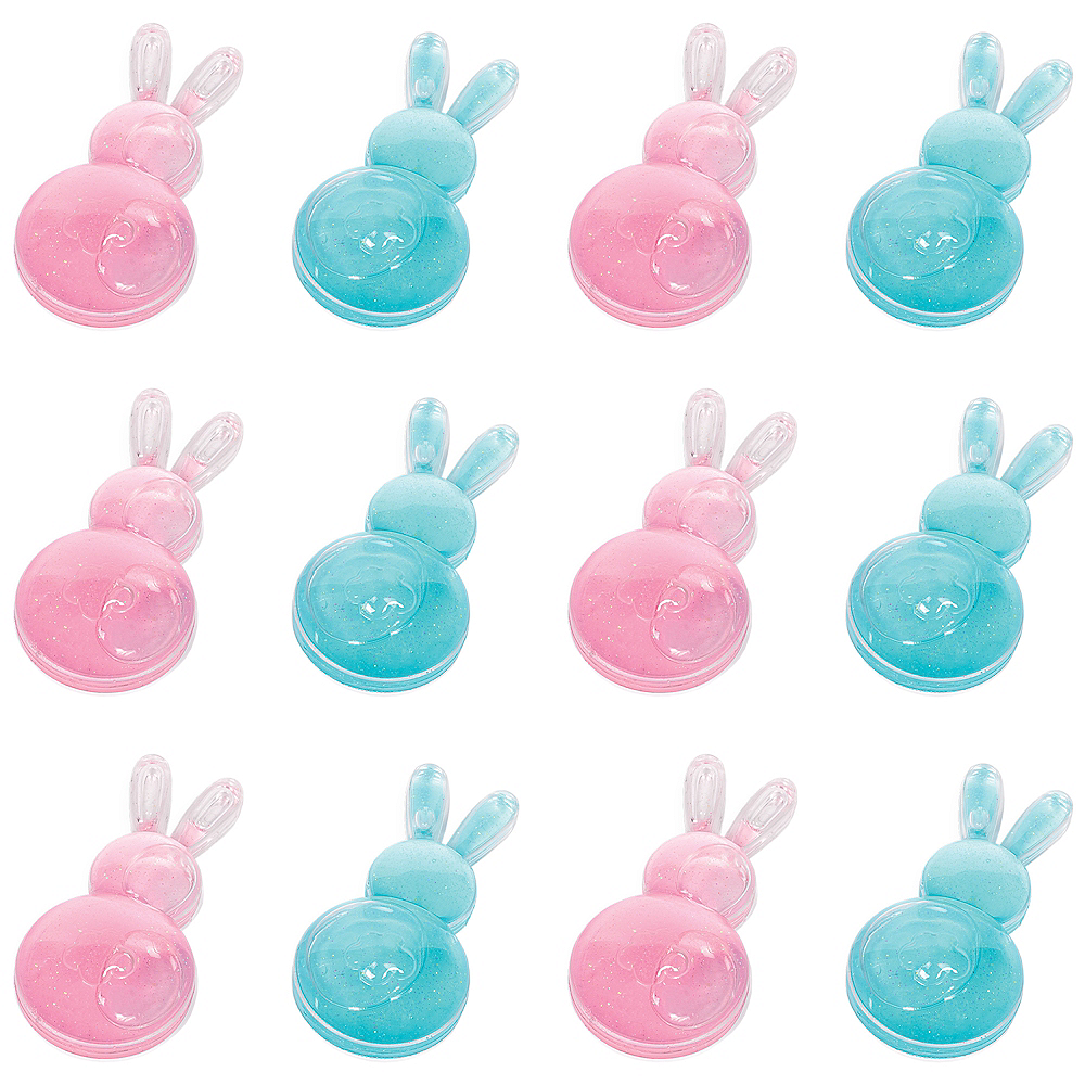 Glitter Bunny Putty 12ct Image #1