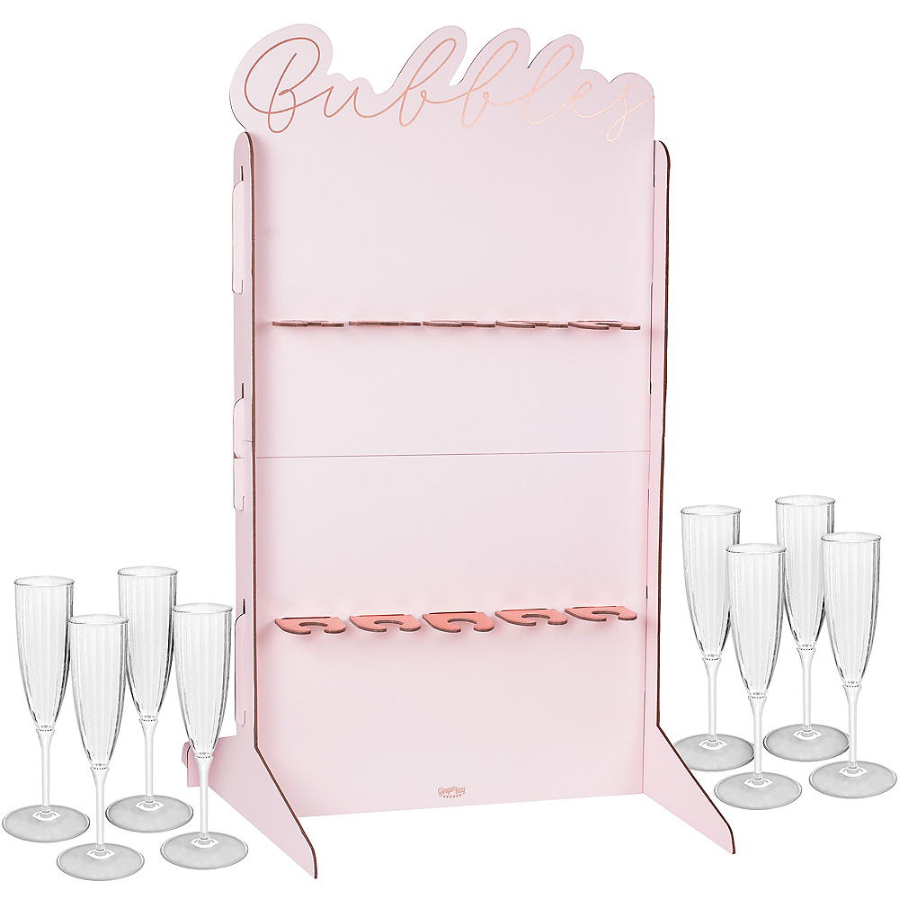 Ginger Ray Pink Champagne Wall Kit Image #1