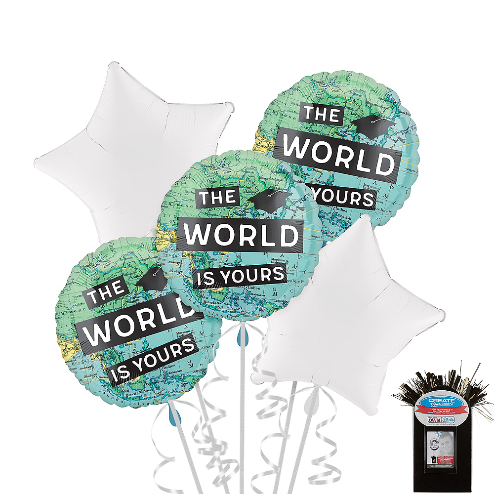 The World Awaits Balloon Bouquet Kit Image #1