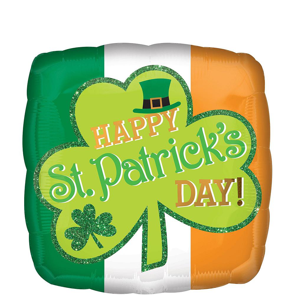 Happy St. Patrick's Day Balloon Kit 11pc Image #3