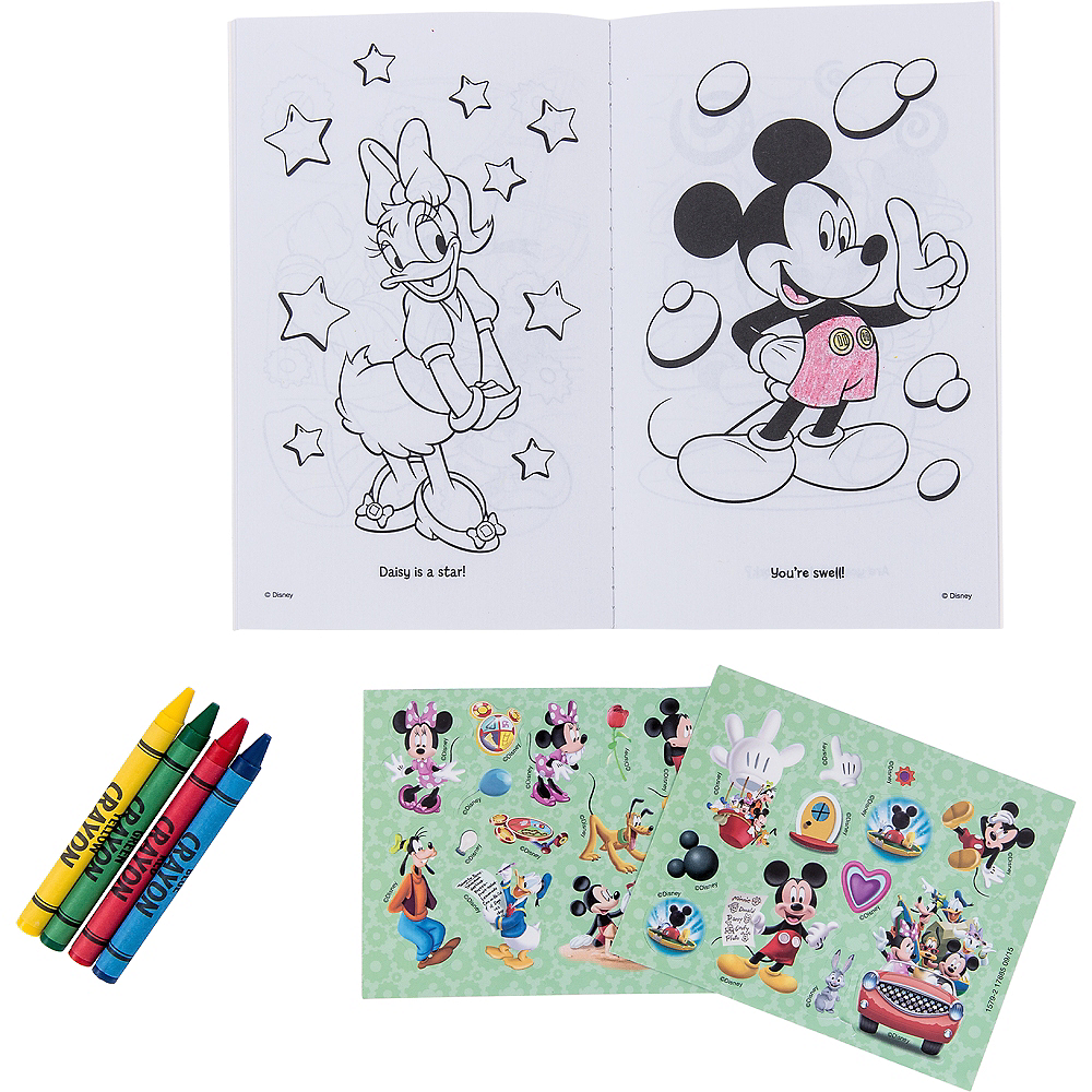 Mickey Mouse Activity Kits 6ct Image #2