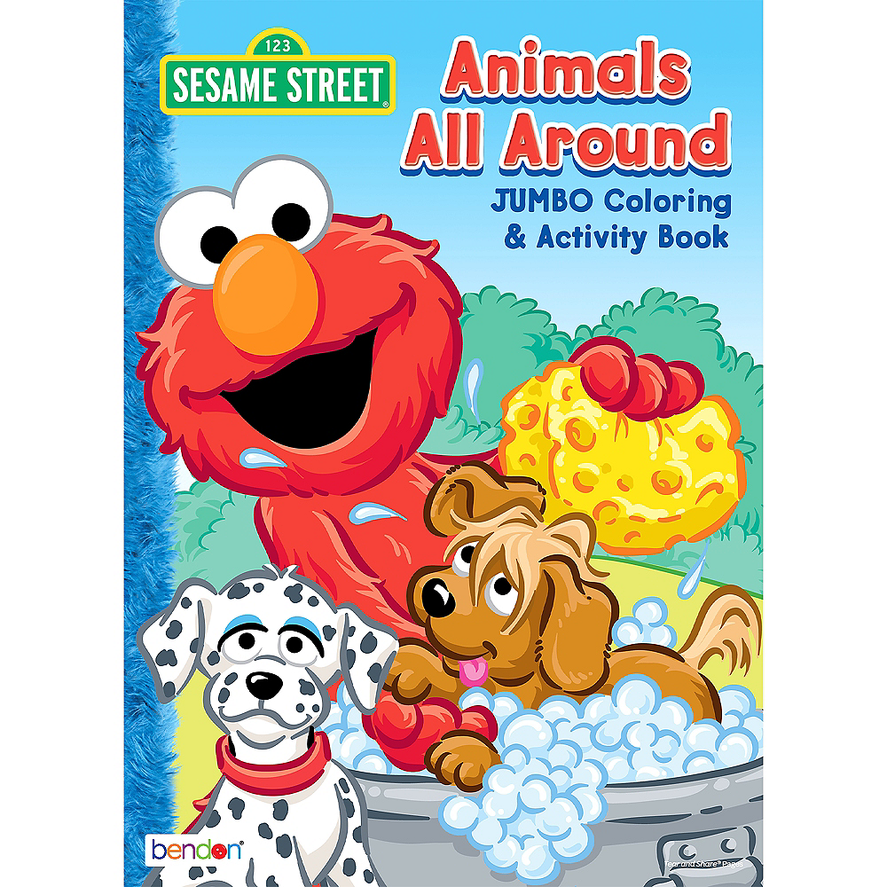 Sesame Street Coloring & Activity Books 12ct Image #1