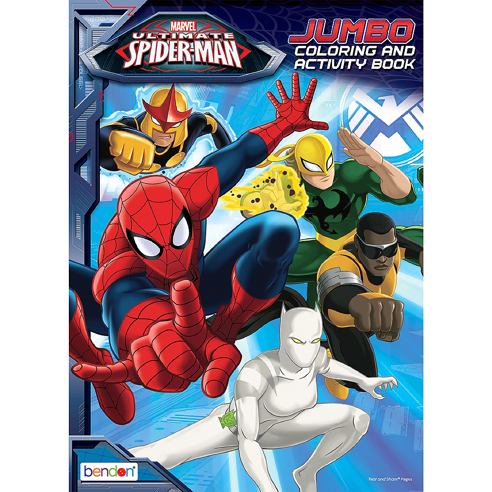 Spider-Man Coloring & Activity Books 12ct Image #1