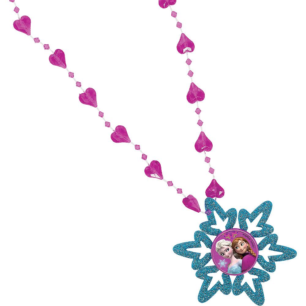 Frozen Snowflake Necklaces 6ct Image #1