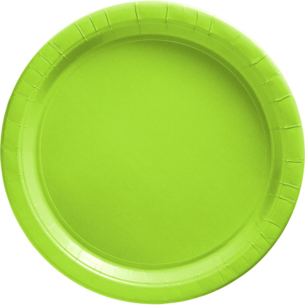 Kiwi Paper Tableware Kit for 100 Guests Image #3