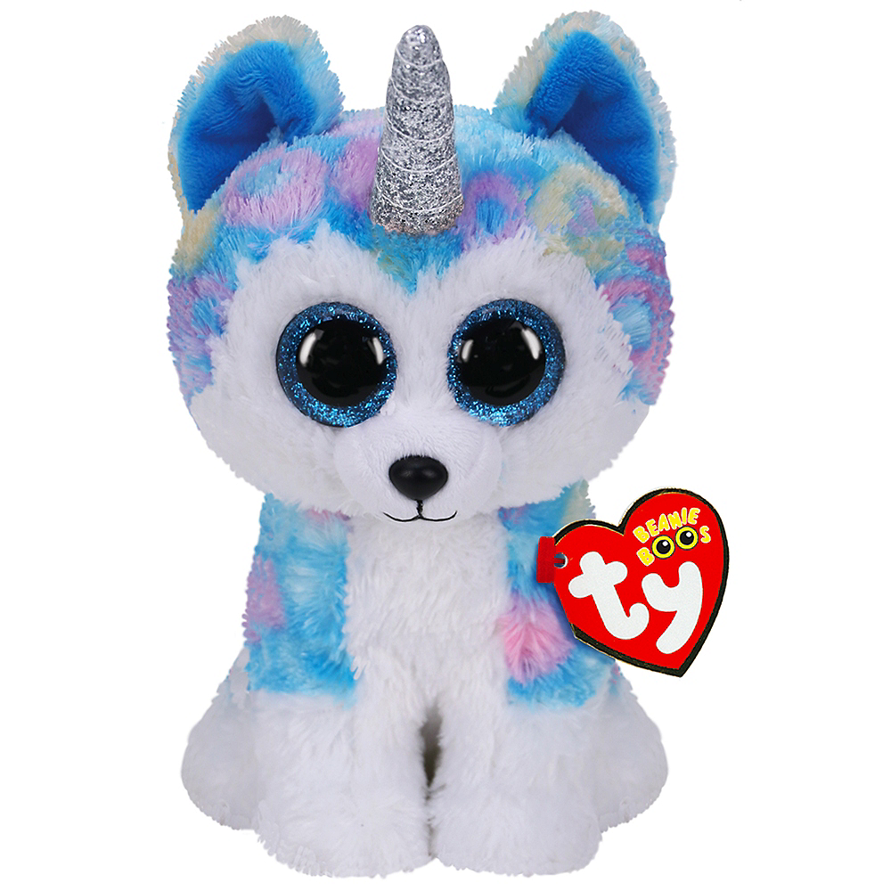 Nav Item for Helena Beanie Boos Husky with Horn Plush Image #1