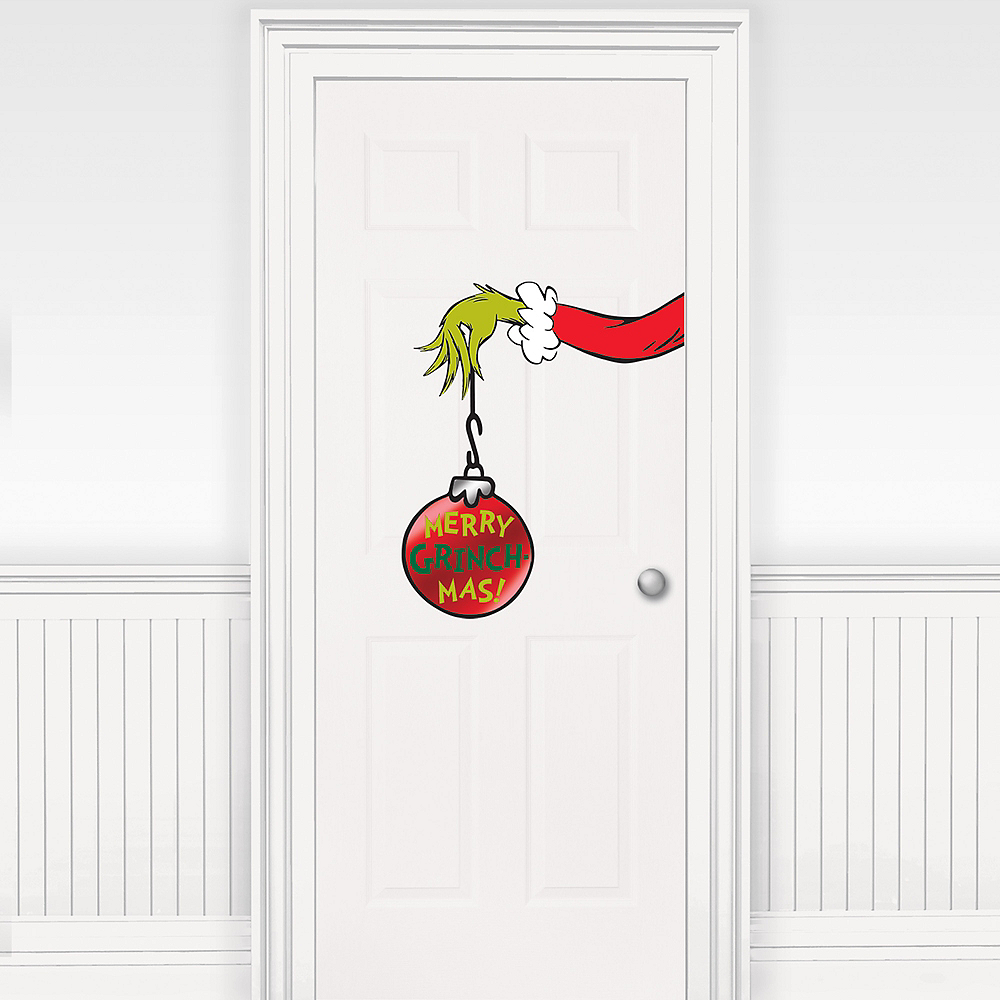 Traditional Grinch Door Decoration 23 1/2in | Party City