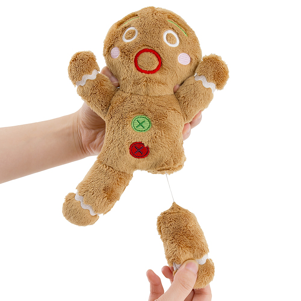 Pull String Gingerbread Man Image #1