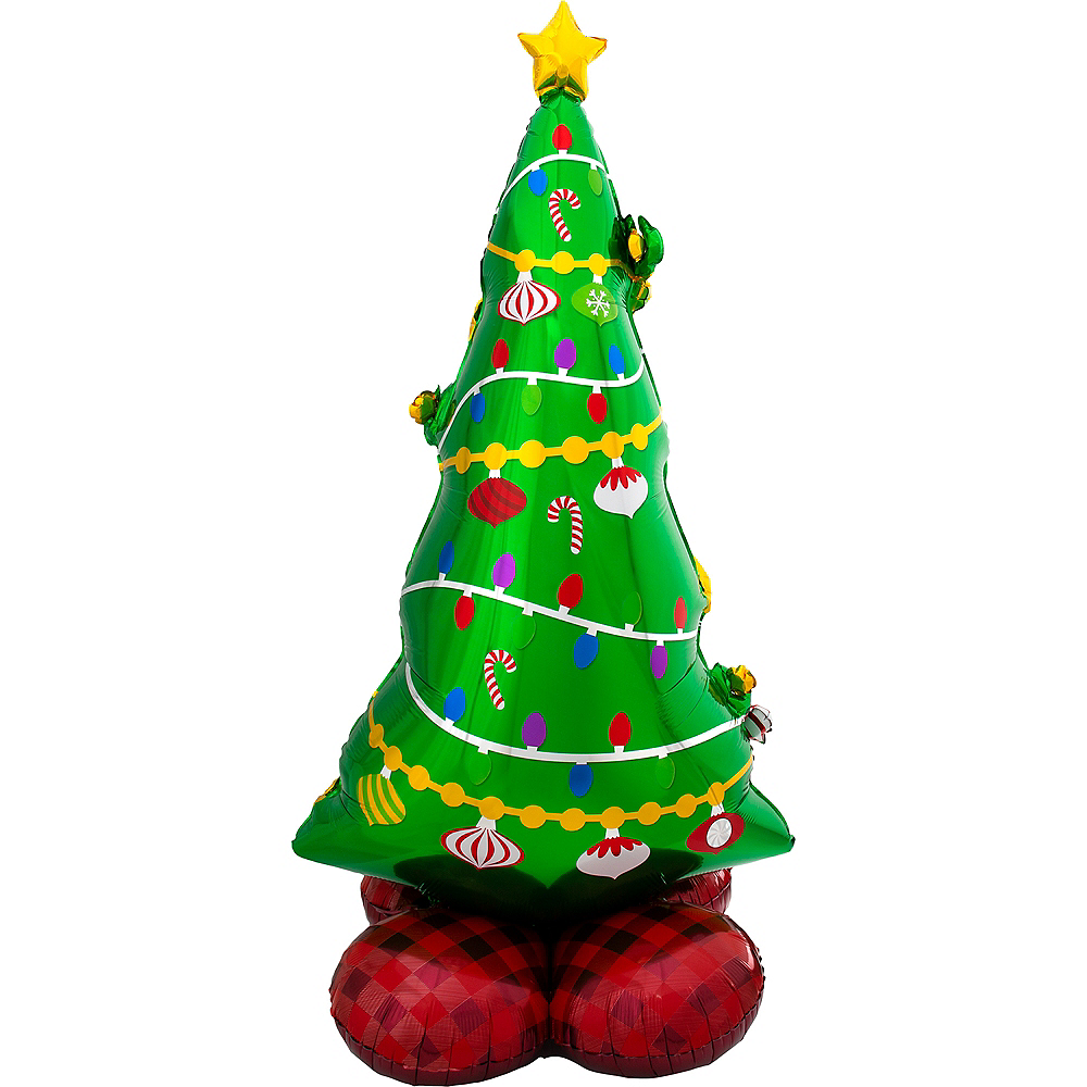 AirLoonz Christmas Tree Balloon, 59in Image #1