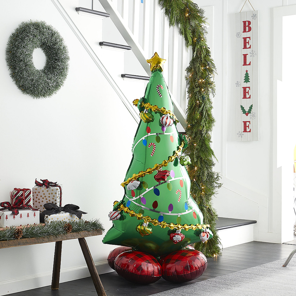 AirLoonz Christmas Tree Balloon, 59in Image #3