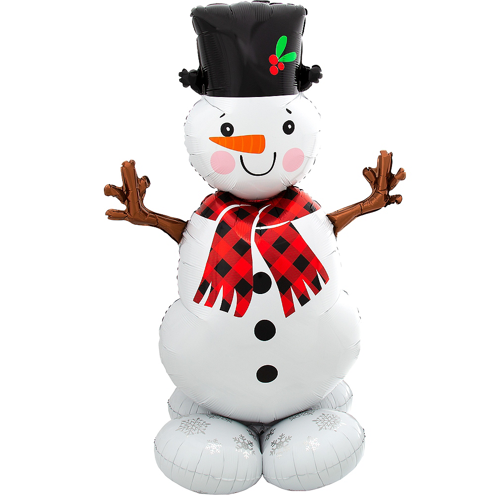 AirLoonz Snowman Balloon, 55in Image #1