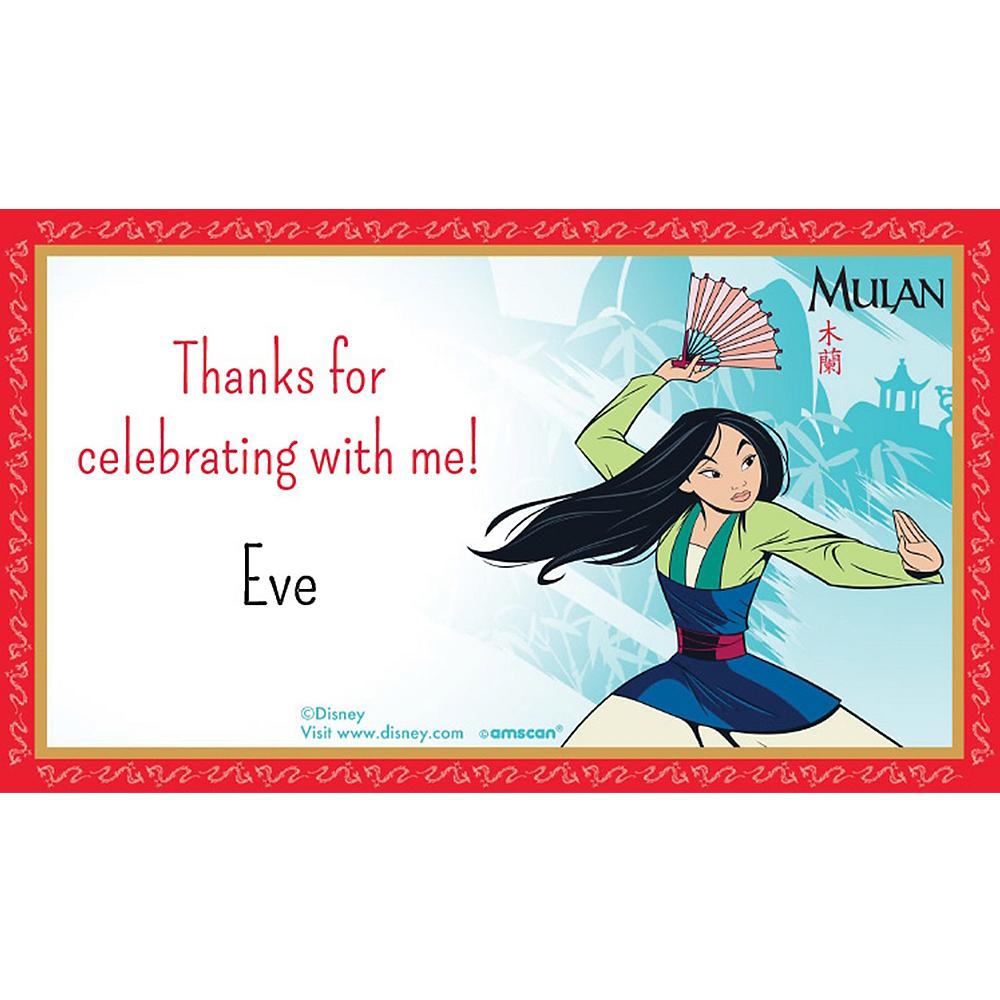 Custom Mulan Thank You Notes Image #1