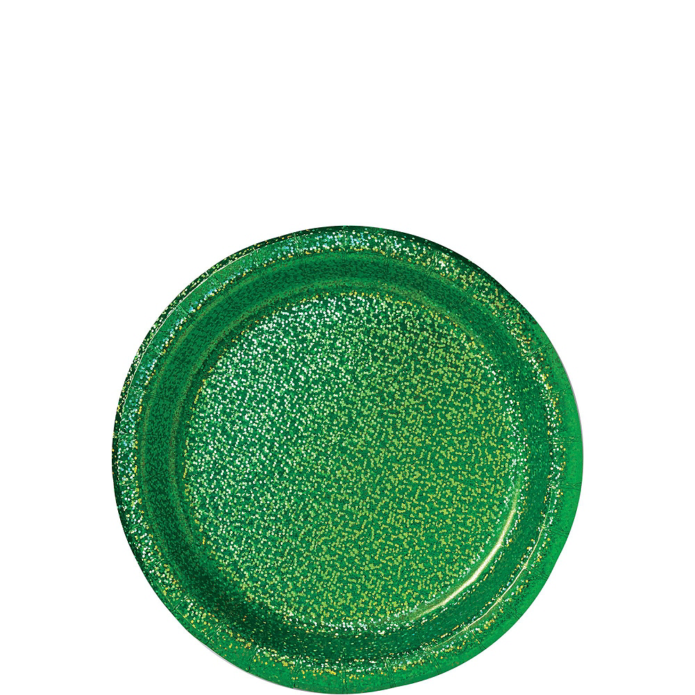 Prismatic Green Tableware Kit for 16 Guests Image #2