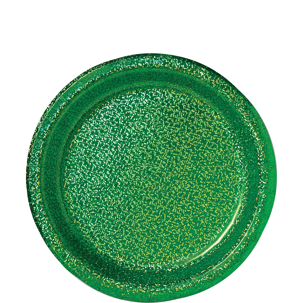 Prismatic Green Tableware Kit for 16 Guests Image #3