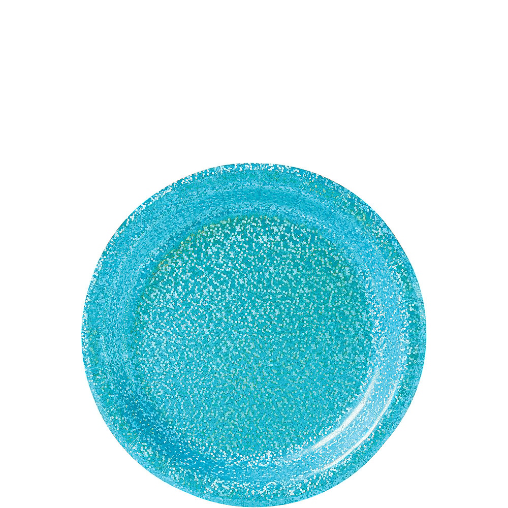 Prismatic Caribbean Blue Tableware Kit for 16 Guests Image #2